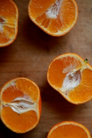 Sliced Clementines