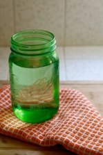 Green Jar of Water