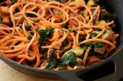 Winter Spiralized Carrot Salad